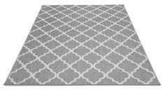 Matto jopa ulkokäyttöön Dubai-mattossa on kaunis valkoharmaa marokkolaishenkinen kuosi. Matto on helppohoitoinen ja pölyämätön. Matto sopii käytettäväksi... Picnic Blanket, Outdoor Blanket, Dubai, Rugs, Gardening, Dreams, Home Decor, Farmhouse Rugs, Decoration Home