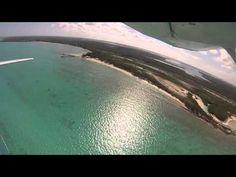 Flight over Small Hope Bay Lodge, Andros Island, Bahamas