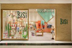 Bisi Teen, Shopping Rio Sul 2017 Arquitetura para lojas - Arquitetura de interiores Shop Design - Retail Design