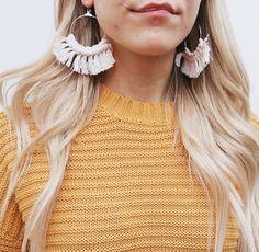 Diy Macrame Earrings, Diy Tutorial, Fashion, Moda, Fashion Styles, Fashion Illustrations