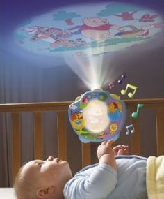 Oh my goodness this is awesome! Winnie the Pooh nursery projector