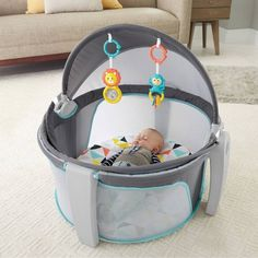 Product Image for Fisher-Price® Windmill On-the-Go Baby Dome 1 out of 3