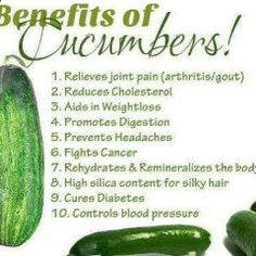 Fat Loss Healthy Tips - #6 - Cucumbers