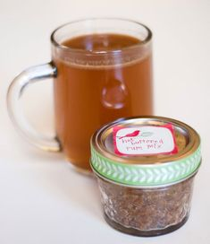 Hot buttered rum mix makes the coziest edible gift
