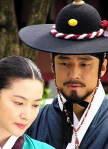 First Korean drama I've watched... it is really good drama about women, history, and their enduring spirit. The drama is called Dae Jang-geum who was known as a Jewel in the Palace. Lee Young-ae as Dae Jang-geum and Ji Jin-hee as Min Jeong-ho