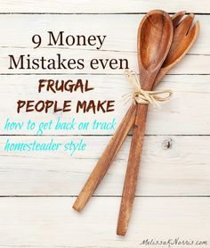 Even frugal people make mistakes that are costing them money. These are simple, but often over looked mistakes that you can easily fix. I'm so glad we did tip number 7 and 9, it's saved us close to $300 a month
