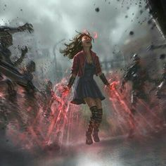 Scarlet Witch Age of Ultron by Andy Park – Marvel Universe – Comic Marvel Dc Comics, Marvel Fan, Marvel Heroes, Marvel Characters, Captain Marvel, Fantasy Characters, Age Of Ultron, Marvel Universe, Image Pinterest