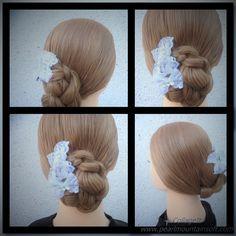 Braided  updo hair styles trenzar recogido 編織 高髻髮型 تجديل قصات الشعر أوبد...