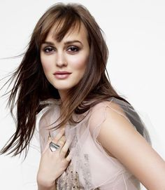 Leighton Meester for Marie Claire April 2012