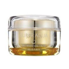 Cleansing ⋆ Koreanische Beauty Tipps aus Asien http://amzn.to/2aPw8RV MISSHA Super Aqua Cell Renew Snail Cream Blemish, whitening, firming the skin, increases skin elasticity and skin moisture. Suitable for any skin type, dry skin, white, flabby, aging…. http://koreakosmetik.de/make-up/cleansing/