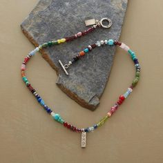RAINBOW OF COLOR NECKLACE: View 2
