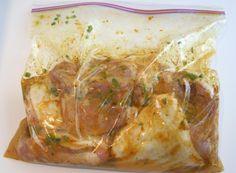 Better than El Pollo Loco Marinade - serve chicken w/ tortillas, rice, pinto beans, fresh salsa, and tortilla chips