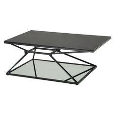 Sunpan Wedge Rectangle Coffee Table - 1421