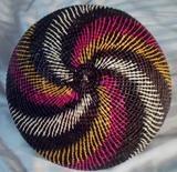 Wounaan Embera Woven Basket with Top Panama 15101708L