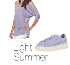 How to Wear Purple Light Summer