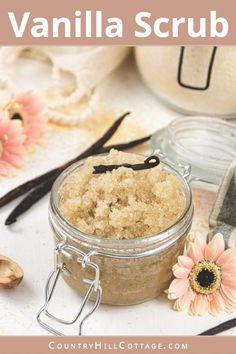 Body Scrub Recipe, Diy Body Scrub, Sugar Scrub Recipe, Diy Scrub, Coffee Body Scrub Diy, Exfoliating Body Scrub Diy, Sugar Hand Scrub, Honey Sugar Scrub, Coconut Oil Sugar Scrub