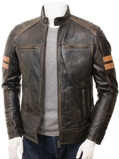 Details about  /Mens SOA  Anarchy Motorcycle Real Leather Waistcoat Cut Off Vest Chrome Leather