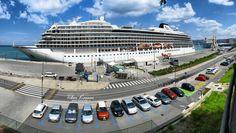 Viking Star cruise ship / Los Angeles, California -2015/, Port of Koper, Istria, Slovenia, Nikon Coolpix B700, 5mm, 1/320s, 1/400s, ISO100, f/8, Nikon panorama segment 2, HDR photography, 201805201229 #Koper