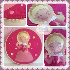 Quadrinho bastidor princesa Aurora