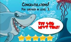Fish & Tricks - game for #WindowsPhone. Is a great cartoon style physics game! Control your fish by moving your phone. The fish grows up by eating smaller fish and  catching bubbles. Keep away from bigger ones and avoid sharks! Your main task is to clean the ocean. There is a lot of different garbage, cans and papers - collect them and get poinst. Please remember that you can collect some of the bigger garbage only when you are big enough.