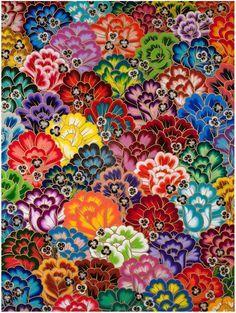 Jet Martinez Remixes Mexican Folk Art in New Floral Works   Hi-Fructose Magazine