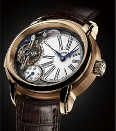 AUDEMARS PIGUET Millenary Minute Repeater Watch - Noble Horological Complication. Limited Edition of 8 pieces (titanium). Price: $496,800.00 USD