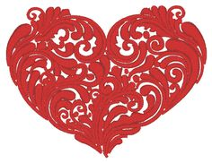 Generations | Free Machine Embroidery Designs  Be mine heart