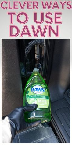 Cleaning Items, Household Cleaning Tips, Homemade Cleaning Products, House Cleaning Tips, Cleaning Hacks, Cleaners Homemade, Diy Cleaners, Dawn Dishwashing Liquid, Dawn Dish Soap