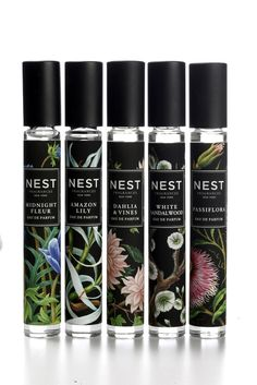 Nest enters fragrance market with this dark, botanical packaging.