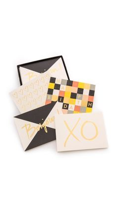 rifle paper co + garance dore card set