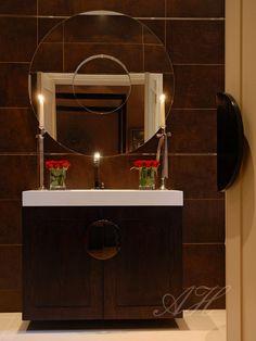 Bathroom vanity by April Hamilton