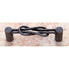 Knotical Iron Finish Square Knot Heavy Pull Jvj Hardware Pulls Drawer Cabinet Hardware &