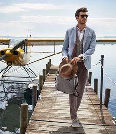 men's fashion & style - Bugatti Spring/Summer 2015 Advertising Campaign