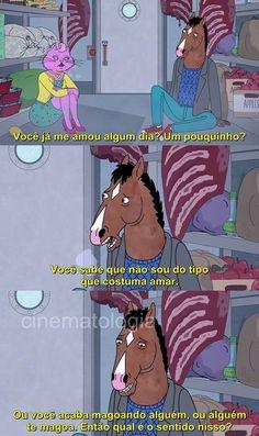 Bojack Horseman horsin around frases