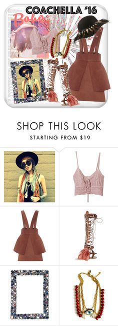"""""""Coachella Style"""" by cool-cute ❤ liked on Polyvore featuring Jens Pirate Booty, Alena Akhmadullina, Brother Vellies, Patricia Nicolas, boho, city, colorful, coachella and bohochic"""