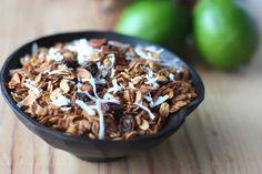 Coconut Lime Granola | Fake Food FreeFake Food Free