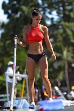 "bella-thorned: """"Allison Stokke by Madeleine Takahashi "" """