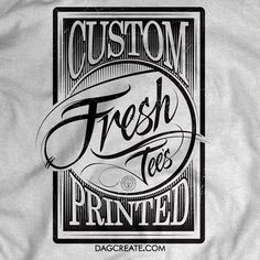 DAGcreate.com - If you need Custom Printed T's #vintage #lettering #sketch #chicagoartist #chicagoart #design #letteringco #goodtype #handlettering #typespire #thedailytype #thedesigntip #typography #calligritype #handdrawn #graphicdesign #Chicago #calligraphy #calligraffiti #screenprinting #screenprint #tshirt #art #apparel #clothing #serigraphy #chicagostreetart #local #custom #customshirts