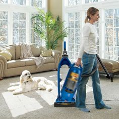 Lift-Off® MultiCyclonic Pet Vacuum | Bissell  Great vacuum for pets of all kinds!