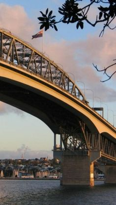 Auckland Harbour Bridge, North Island, New Zealand -- Curated by: Ecora Engineering & Resource Group North Island New Zealand, South Island, Places To Travel, Places To See, Travel Stuff, Places Around The World, Around The Worlds, Love Bridge, Covered Bridges