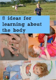 8 easy activity ideas for learning about the human body.