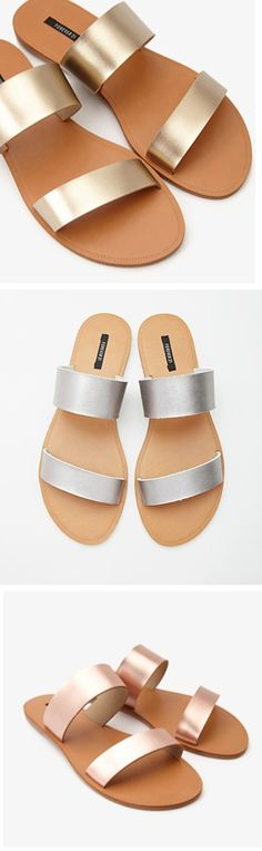 Ditch the flip-flops! The must have sandal for spring!