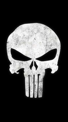 The Punisher logo - Visit now to grab yourself a super hero shirt today at 40% off!