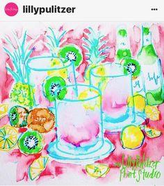 Sparkling or still? Lilly Pulitzer Patterns, Lilly Pulitzer Prints, Lily Pullitzer, Love Lily, Bright Art, Digital Scrapbook Paper, Happy Art, Cute Art, Artsy