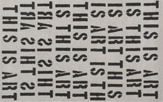 this is art rug | CB2