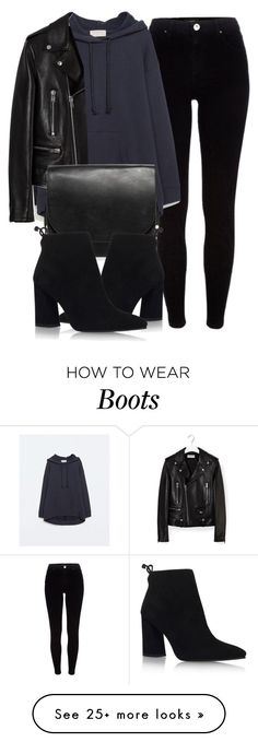 """""""Untitled #5379"""" by laurenmboot on Polyvore featuring River Island, Zara, Yves Saint Laurent, MANGO and Stuart Weitzman"""