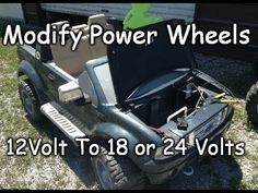 How To Modify 12V To 18 Or 24 Volts - Easy Ford Raptor F-150 Power Wheel...