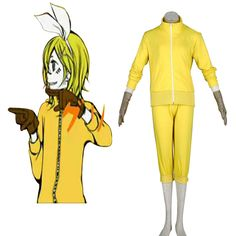Deluxe Vocaloid Kagamine Rin 7TH Cosplay Costumes