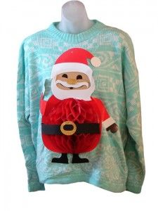 Jolly Old Saint Nick | Real Ugly Christmas Sweaters