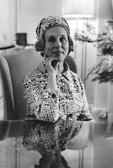 Estee Lauder , the American businesswoman and beautician, Aerin Lauder, Estee Lauder, Celebs, Celebrities, Business Women, Winter Hats, Portrait, American, People